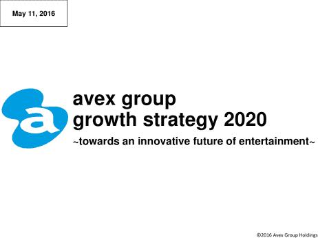 Avex Group Holdings Inc. avex ...