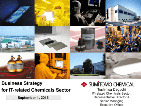 Sumitomo Chemical Co , Ltd  Business Strategy for IT-related