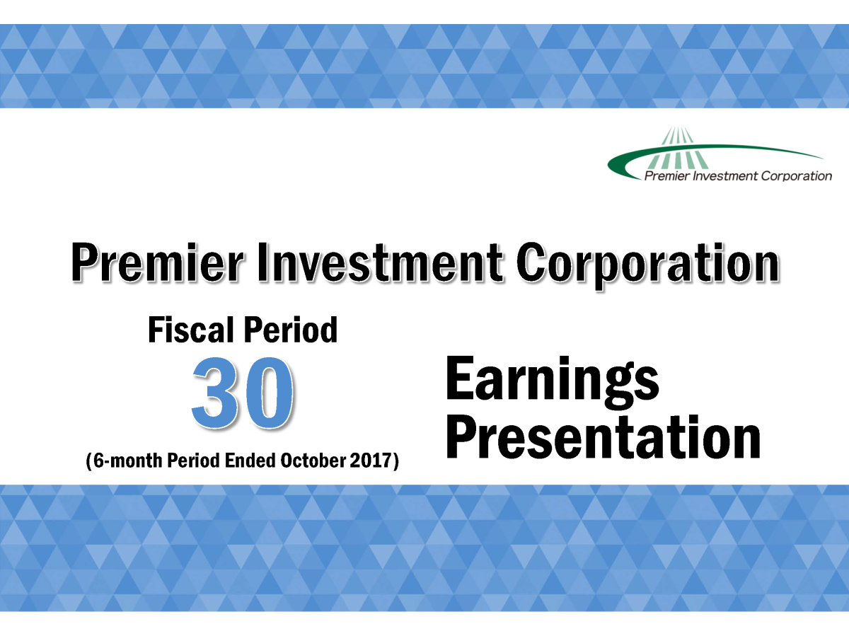 premier investment corporation fiscal period 30 6 month period