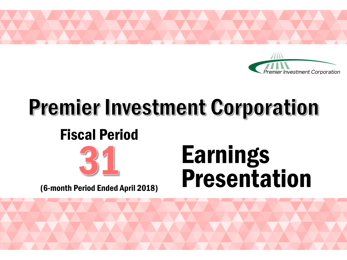 premier investment corporation fiscal period 31 6 month period